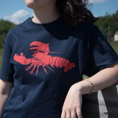 Adult Unisex Maine Lobster T-Shirt