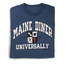 Adult Unisex Universally Maine Diner T-shirt